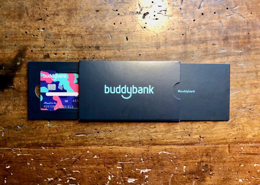 Buddybank carta spedita