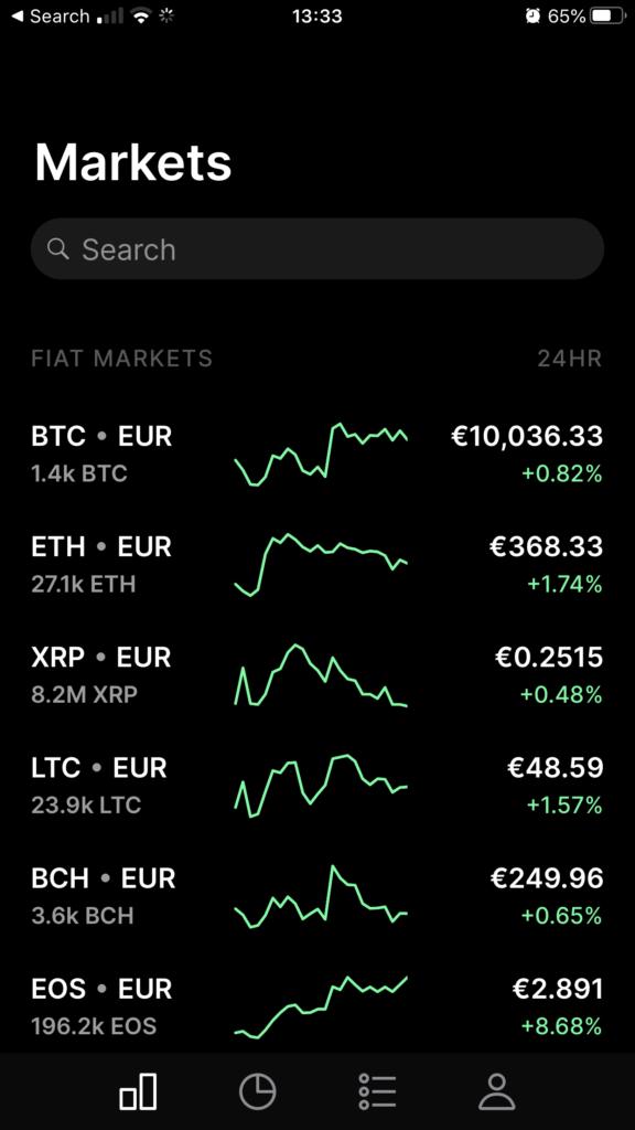 Mercati - Coinbase Pro - come aquistare bitcoin